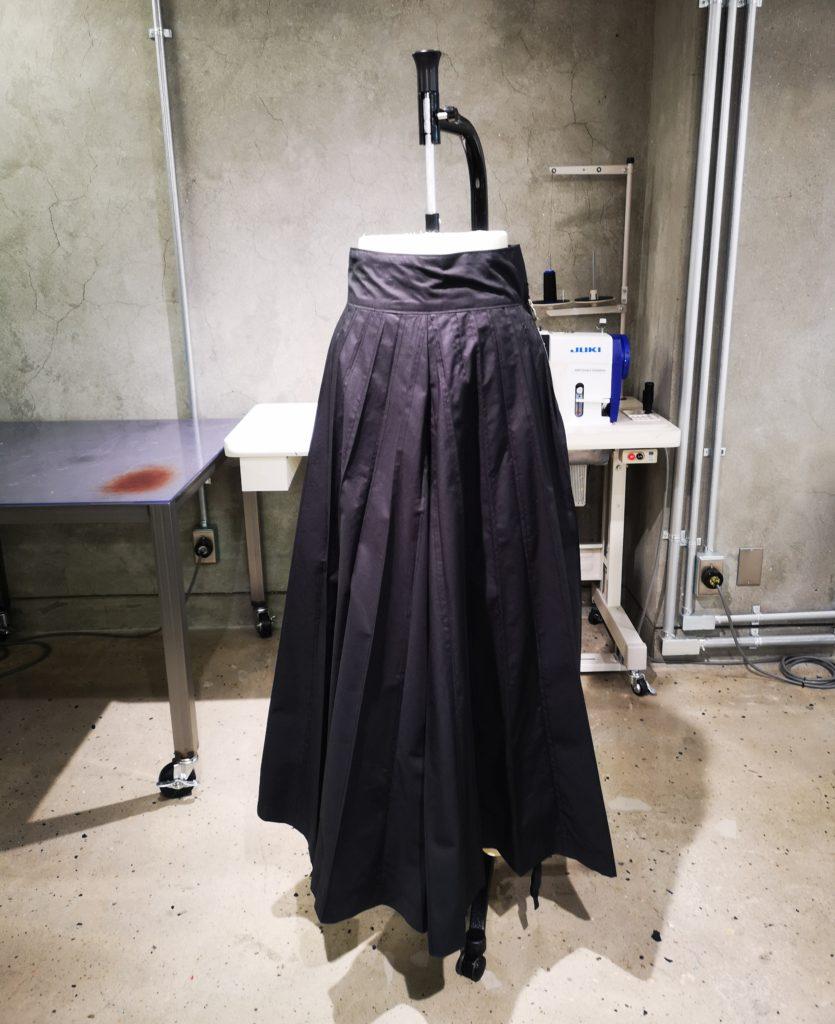 バイシクルスカート試作品
