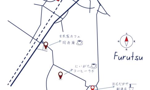 古津駅map